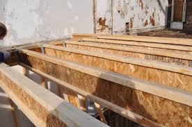Floor Joist Bracing Spacing by How To Install A Plywood Subfloor One Project Closer