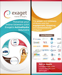 Poster Design For Exaget Ltd By Akshar Shailesh