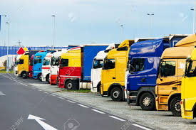 Many Different Trucks Parked In A Parking Lot Of The Highway Stock ... Truck Parking Shortage Creates Risk For Drivers Phoenix Park Superstion Trailers A Is Pain In The Butt Tech To Rescue Wired Usa Partners With Routing Software Group On Lot Sweeping Oakland Universal Site Services Frankfurt Airport Flying Junkyard Apk Download Free Simulation Game New Spaces For Trucks Will Be Created At Rest Areas Along Parking Canada Asks Truckers Help Solve Problem Fleet Owner Many Different Parked In A Of The Highway Stock Smart Solutions Govcomm Ielligent Transportation Systems