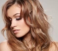 Light caramel hair color