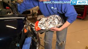 how to install repair replace headlight and bulb dodge ram 02 06