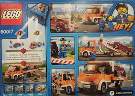 100 Lego City Tow Truck 60017 Flatbed I Brick