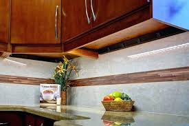 cabinet outlet strips kitchen lighting with outlet