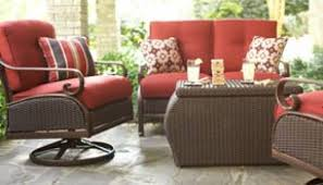 Home Depot Patio Furniture Wicker by Patio Furniture Home Depot Hampton Bay Oak Cliff 7 Piece Metal