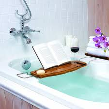 Bath Caddy With Reading Rack by Guide To Choose Bath Tub Caddy U2014 Home Ideas Collection