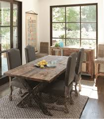 Captivating Rustic Chic Dining Room Tables 17 Best Ideas About With Regard To Inspirations 8