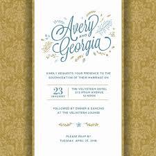 Template For Wedding Invitation Unique 5 Exceptionally