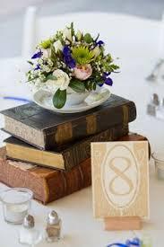 Crystal And Ryan Louisa Virginia Book CenterpiecesCenterpiece IdeasWedding CenterpiecesVintage