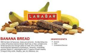 Homemade Banana Bread Larabars Oh She Glows