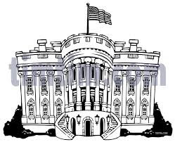 Full Size Of Coloring Pagescool White House Drawing Stunning 5000 Whitehousebw Pages Large