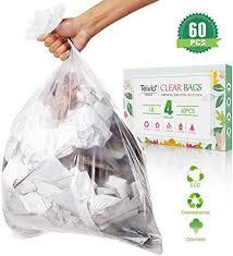 teivio starke müllbeutel müllbeutel müllbeutel badezimmer müllbeutel müllbeutel müllbeutel kleine plastiktüten für zuhause büro küche transparent 15