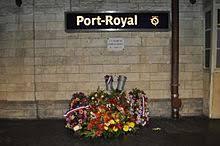 gare de port royal