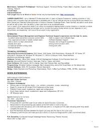 Computer Hardware And Networking Resume Format Superb Network Technician Related To