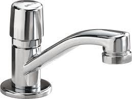 Delta Trinsic Bathroom Faucet by Delta Faucet 701lf Hdf Metering Single Handle Metering Faucet