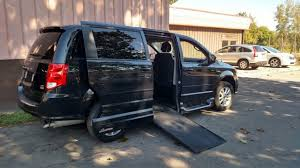 Used Wheelchair Van For Sale 2014 Dodge Grand Caravan Accessible With