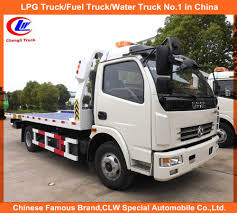 100 Tow Truck Accident China Dongfeng 6 Wheeler In 5ton Recovery