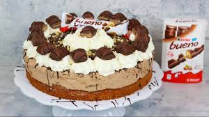 kinder bueno torte haselnusstorte
