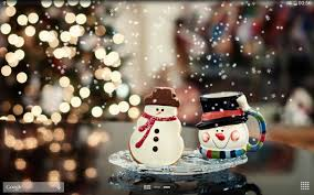 Frosty Snowman Christmas Tree by Christmas Snow Live Wallpaper Android Apps On Google Play