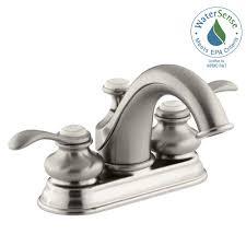 Kohler Fairfax Bathroom Faucet Aerator by Kohler Refinia 4 In Centerset 2 Handle Water Saving Bathroom