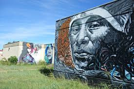 Big Ang Mural Petition by A Mural Honors The Ruins Of An American Indian Boarding