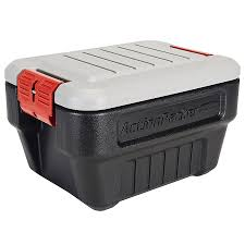 Rubbermaid ActionPacker Lockable Storage Container - Black/Gray ... Rubbermaid 1172 Actionpacker Storage Box 24 Gallon Amazonca Home Truck Bed Under Photo And Media 634 In H X 9 W 183 D 30204770e Trucks Design Fg449600bla Convertible Truck Tool Storage Ideas The New Way Decor Some Nice Deluxe Carry Caddy Online Coat Rack Pictures Modern Twin Sheet Panel Aframe Wcp Solutions Facility Supplies Guide Whosale