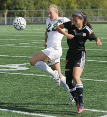 Gander Mountain Stadium Chairs by Girls Soccer Spartans Get Tied Up With Farmington Local Sports