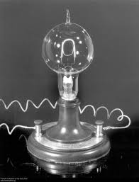 this photograph shows a replica of edison s patented l