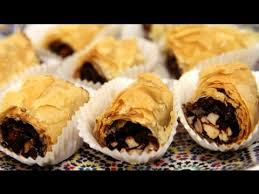 chocolate date m hencha moroccan pastry recipe cookingwithalia