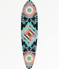 Pintail Longboard Deck Template by Longboard Decks Zumiez