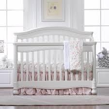Pink Crib Bedding by Liz U0026 Roo Petal Pink Linens Bumperless Crib Bedding Set Kids N Cribs