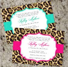 Chic LEOPARD Invitations - Baby Shower Or Any Occassion ... Woodgrain Embossed Print At Home Invitation Kit Gartner Studios Free Spa Party Invitations Printables Girls Invitetown Bday Birthday Invites Exciting Minecraft Templates Baby Shower Microsoft Word Watercolour Engagement File Or Printed Floral Wedding Suite Files Cards Prting Screen Foil Designs How To At Together Interesting Printable Sale 25 Off Brides Magazine Home Diy Invitations Design And Seven Design Lace By Designedwithamore On Rustic