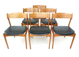Cool Dining Room Chair Dimensions Lovely Fresh 6 Teak Chairs