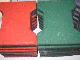 Rubber Paver Tiles Home Depot by Rubber Floor Tiles Natural Home Design