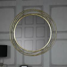 groß gold kamingesims wand spiegel vintage französisch
