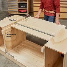 How To Build A SpaceSaving FlipTop Workbench Wood Stuff