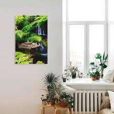 artland wandbild japanische laterne spa 1 st in vielen größen produktarten alubild outdoorbild für den außenbereich leinwandbild poster