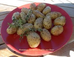 comment cuisiner les rattes pommes de terre ratte au four croquant fondant gourmand
