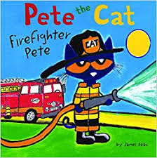 Firefighter Pete The Cat Turtleback School Library Binding Edition James Dean 9780606410489 Amazon Books