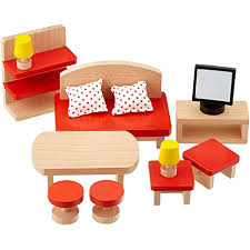 goki 51716 puppenmöbel wohnzimmer basic