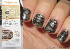 sally hansen insta gel nail strips review photos project swatch