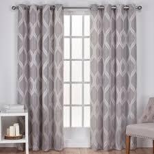geometric pattern curtains canada curtains drapes you ll wayfair ca