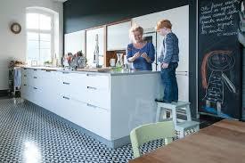 küchenwand als tafel schöner wohnen