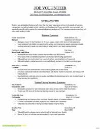 Certified Nursing Assistant Resume New Cna Sample Awesome Unique College Application Of