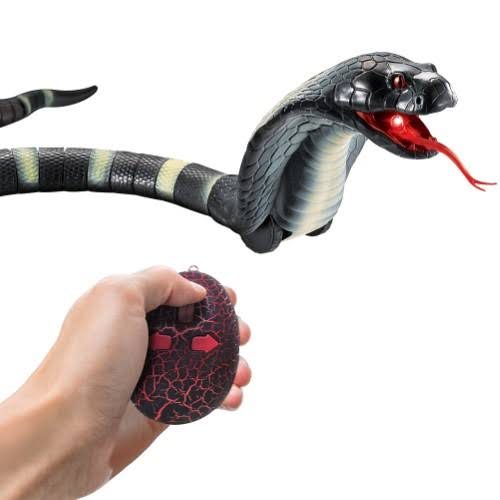Remote Controlled Cobra Snake with Infrared Transmitter - Ages 6+