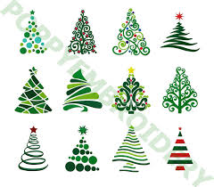 CHRISTMAS Tree Designs For Embroidery Machine Noel Motifs Pour Broderie