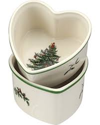 Spode Christmas Tree Glasses by Check Out These Deals On Spode Christmas Tree Heart Shaped