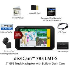 Shop Garmin DezlCam 785 LMT-S Trucking GPS Navigator - Ships To ... Garmin Dezl 760lmt Gps Truck Car Navigator Automotive Trucking 010 780 Lmts Advanced For Trucks 185500 Bh Semitruck Gets Stranded On North Carolina Beach After Gives Sandi Pointe Virtual Library Of Collections Coming Soon Cleaner Less Pollution And Fuel Cost Savings Tom Go 630 Lorry Bus Semi Navigation With 2019 All Bayou Goat Mounts Llc Gps Radar Detector Cell Phone Display Settings In The Dezl 560 Rv Youtube Tracking For Companies Titan Welcome To Gpsgaadi Fleet Device India Ppt Download Unique Use Cases Monitor Third Party Eureka Logisticss Logistics Jakarta