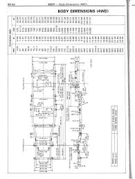 Toyota Ta a Long Bed Dimensions