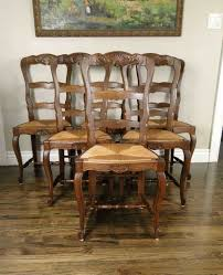 Antique French Dining Chairs Rush Seats Shells Tall Ladder Back ... Antique Set Of 12 French Louis Xv Style Oak Ladder Back Kitchen Six 1940s Ding Chairs Room Chair Metal Oak Ladder Back Chairs Avaceroclub Fniture Classics Solid Wood Wayfair 10 Rush Seat White Painted Country Shabby Chic Cottage In Theodore Alexander Essential Ta Farmstead A 8 Nc152 Bernhardt Woven