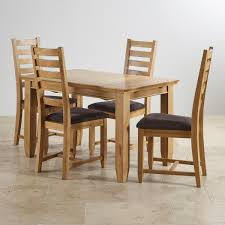 100 6 Oak Dining Table With Chairs Classic Extending Set In Wooden